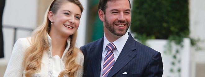Les jeunes mariés le 19 octobre 2012