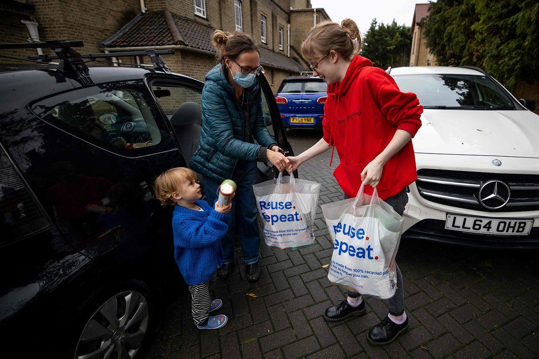 Nach Markus Rashfords Aufruf engagieren sich viele Menschen in Großbritannien, damit Kinder nicht hungern müssen.