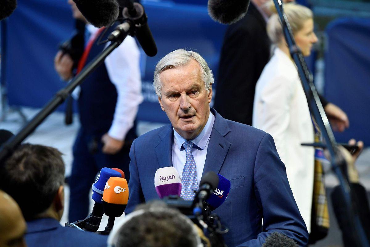 Michel Barnier doit faire un point à la veille du sommet européen.