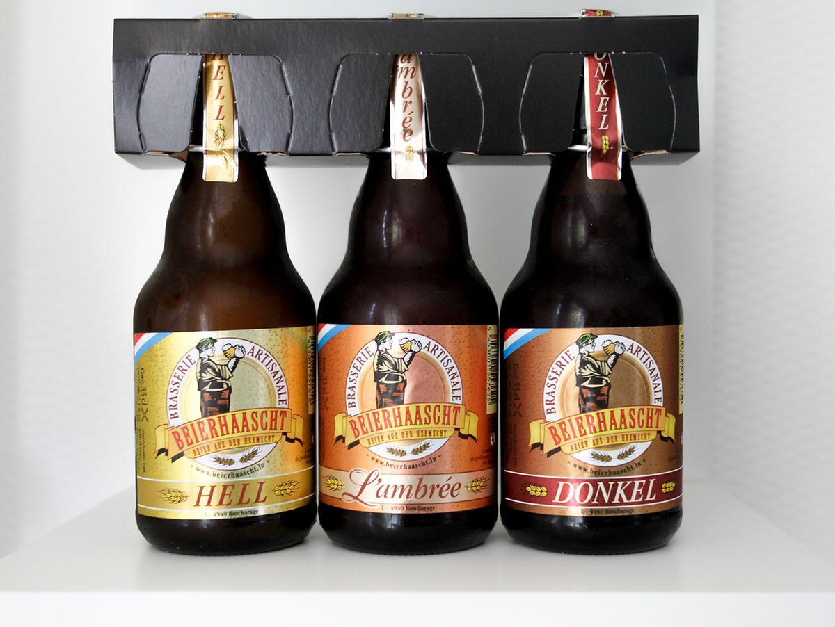 Die Biere der luxemburgischen Mikrobrauerei Béierhaascht bringen ein wenig Abwechslung ins heimische Bier-Sortiment.
