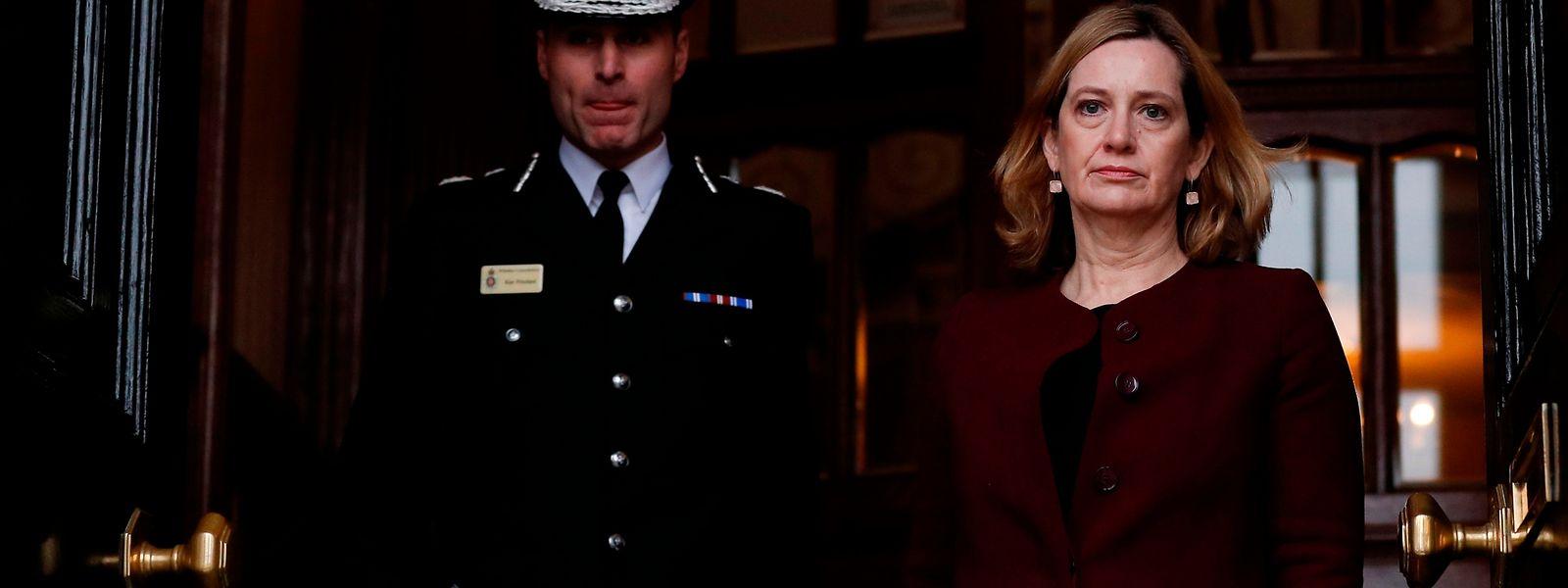 Die britische Innenministerin Amber Rudd will, dass die Ermittlungen im Fall Sergej Skripal schnell vorangehen.