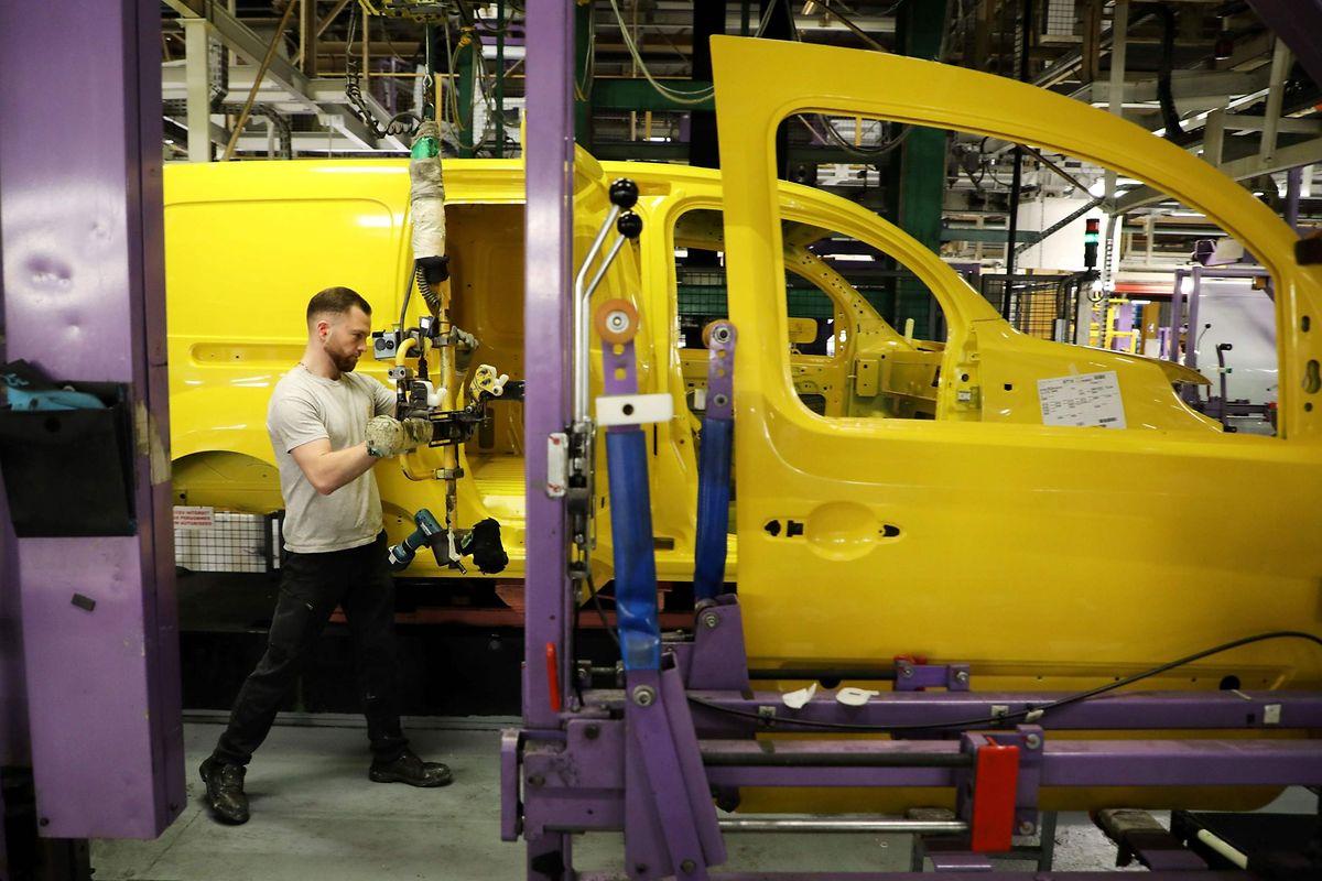 Eine Renault-Produktionsstätte im französischen Maubeuge.