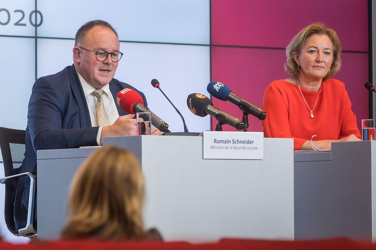 Parteikollege Romain Schneider übernimmt vorübergehend die Agenden von Paulette Lenert.