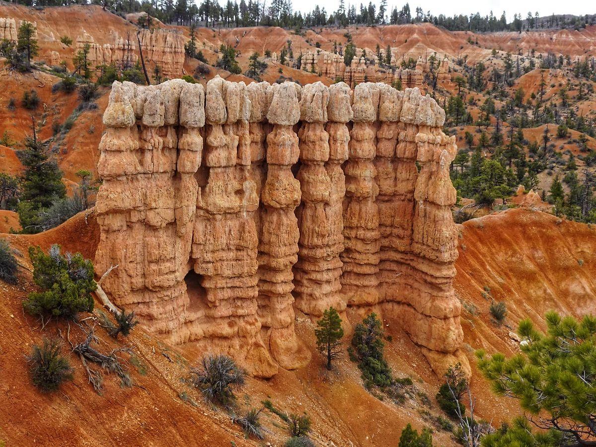 Ungeplanter Abstecher zum Brice Canyon in Utah.