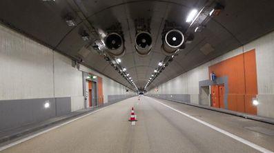 Sowohl im Mondorfer als auch im Frisinger Autobahntunnel bleibt vorerst eine Spur gesperrt.
