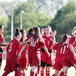 Fussball Laenderspiel Test der FLF Fussballnationalmannschaft der Frauen gegen Andorra in Bettemburg am 21.06.2019 Freude nach dem Tor