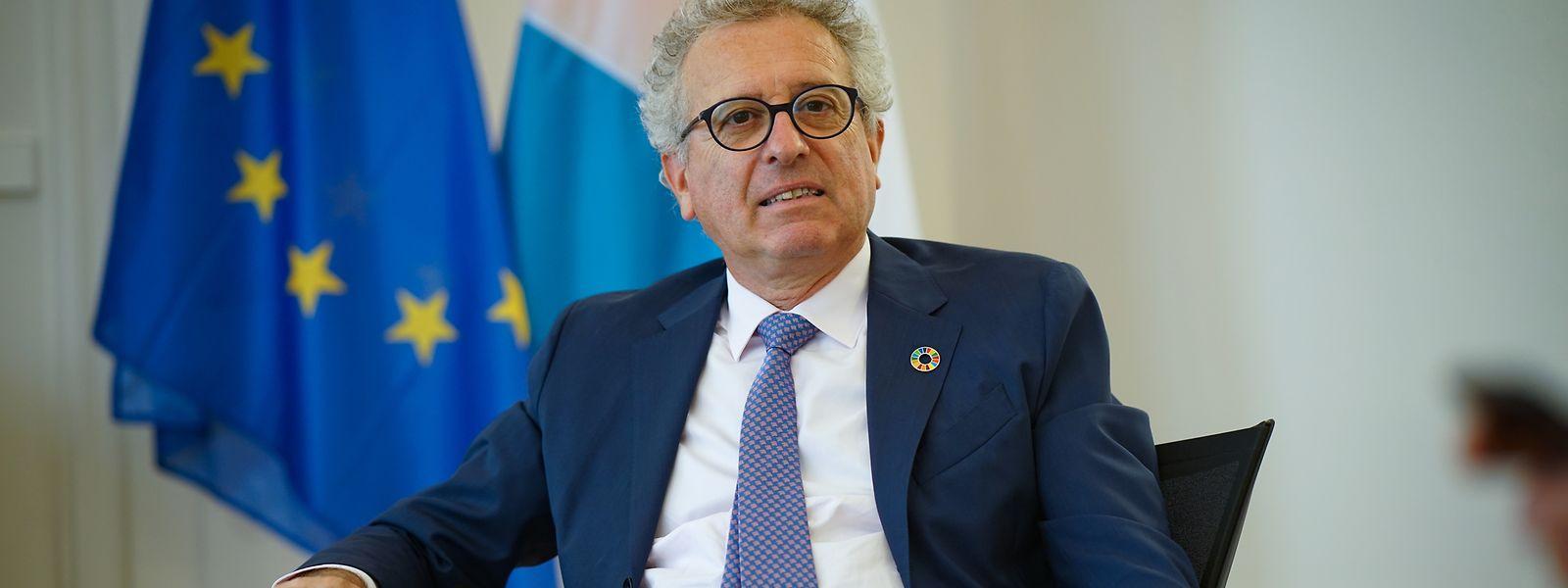 """Pierre Gramegna: """"Les banques jouent leur rôle."""""""