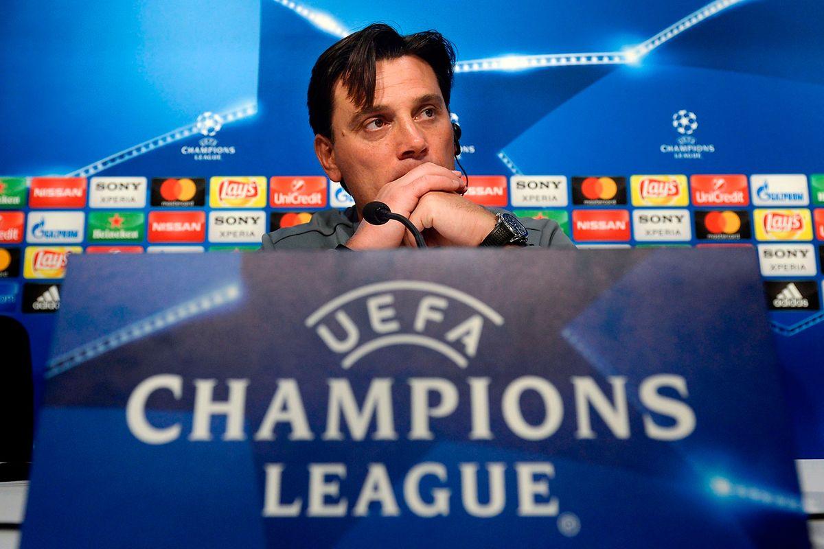 Vincenzo Montella, Coach des FC Sevilla, will gegen die Bayern nicht nur mitspielen.