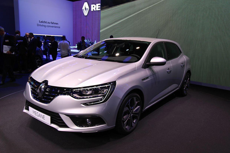 Hoffnungsträger für die Kompaktklasse: der neue Renault Mégane.