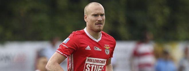 Benjamin Runser, ici sous les couleurs du RM Hamm Benfica, va retrouver l'équipe du Cents avec l'envie de lui jouer un nouveau mauvais tour.