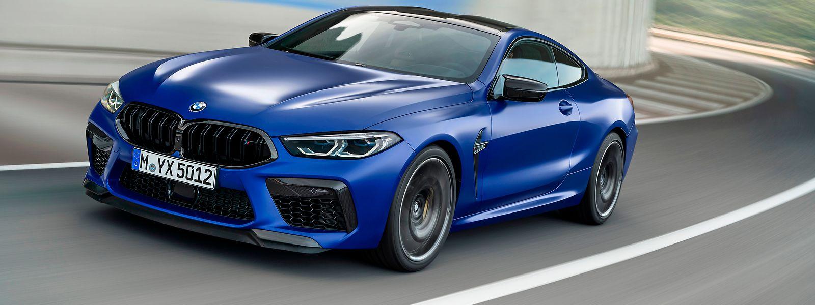 Das BMW M8 Coupé macht optisch keinen Hehl aus seinen sportlichen Qualitäten
