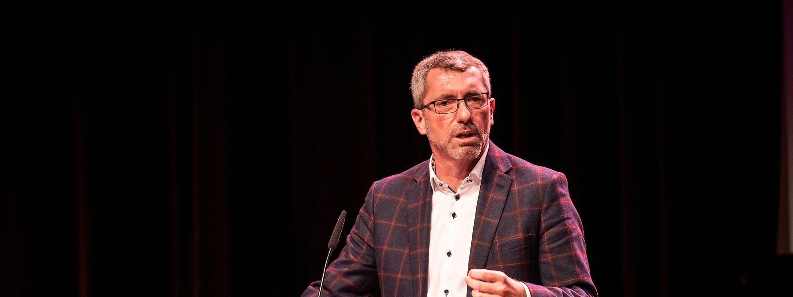 Frank Engel auf dem digitalen Parteikongress im Oktober 2020.