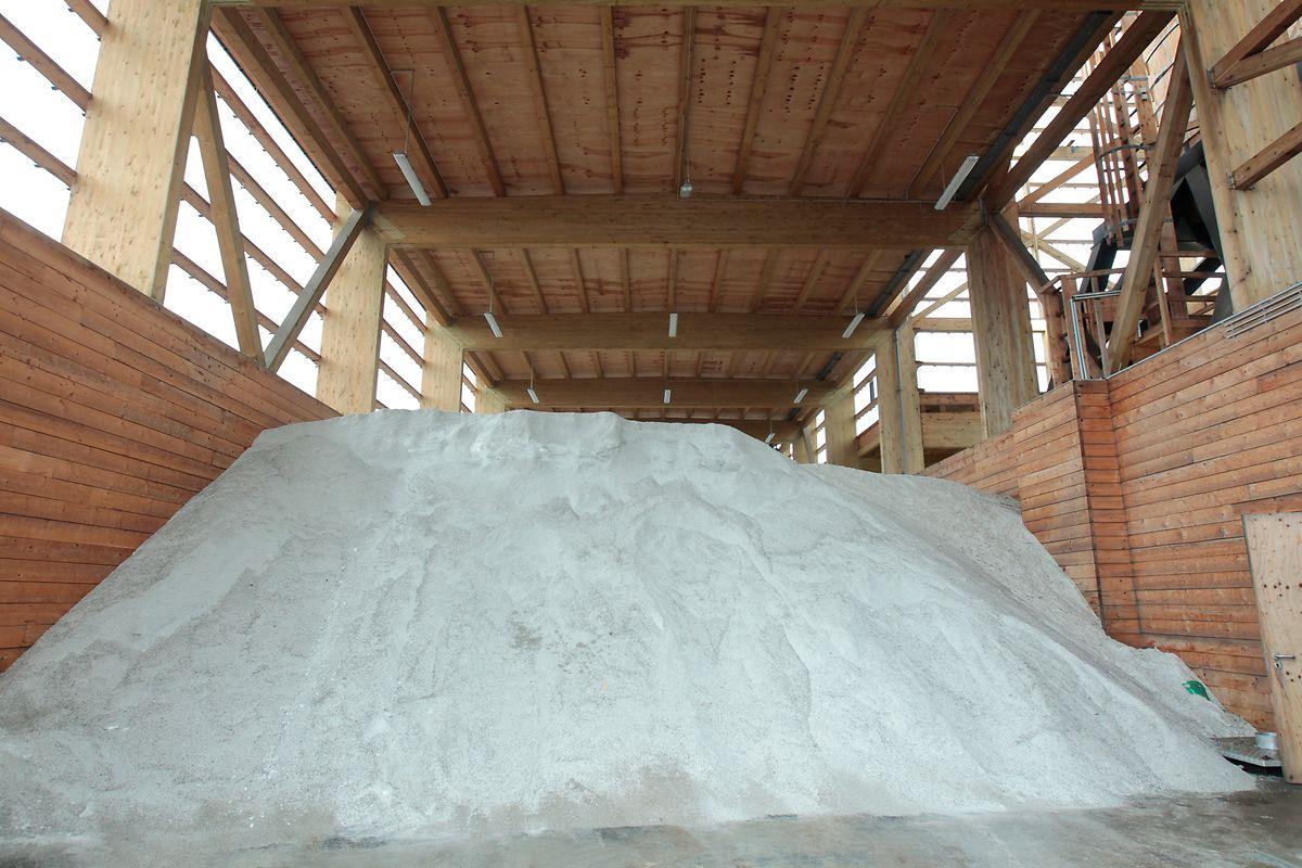 Le dépôt de sel de Bertrange constitue l'une des trois grandes réserves du pays, avec Mersch et Grevenmacher
