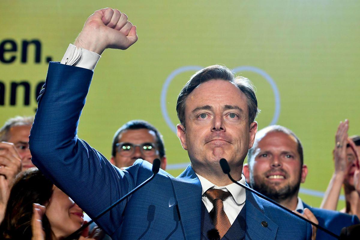 Bart De Wever, au soir du 26 mai 2019, lors de son discours suite aux élections européennes en Belgique.