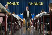 Examen Lycée de Garcons Esch Alzette 2018. Erster Tag der Schlussexamen. Photo: Guy Wolff