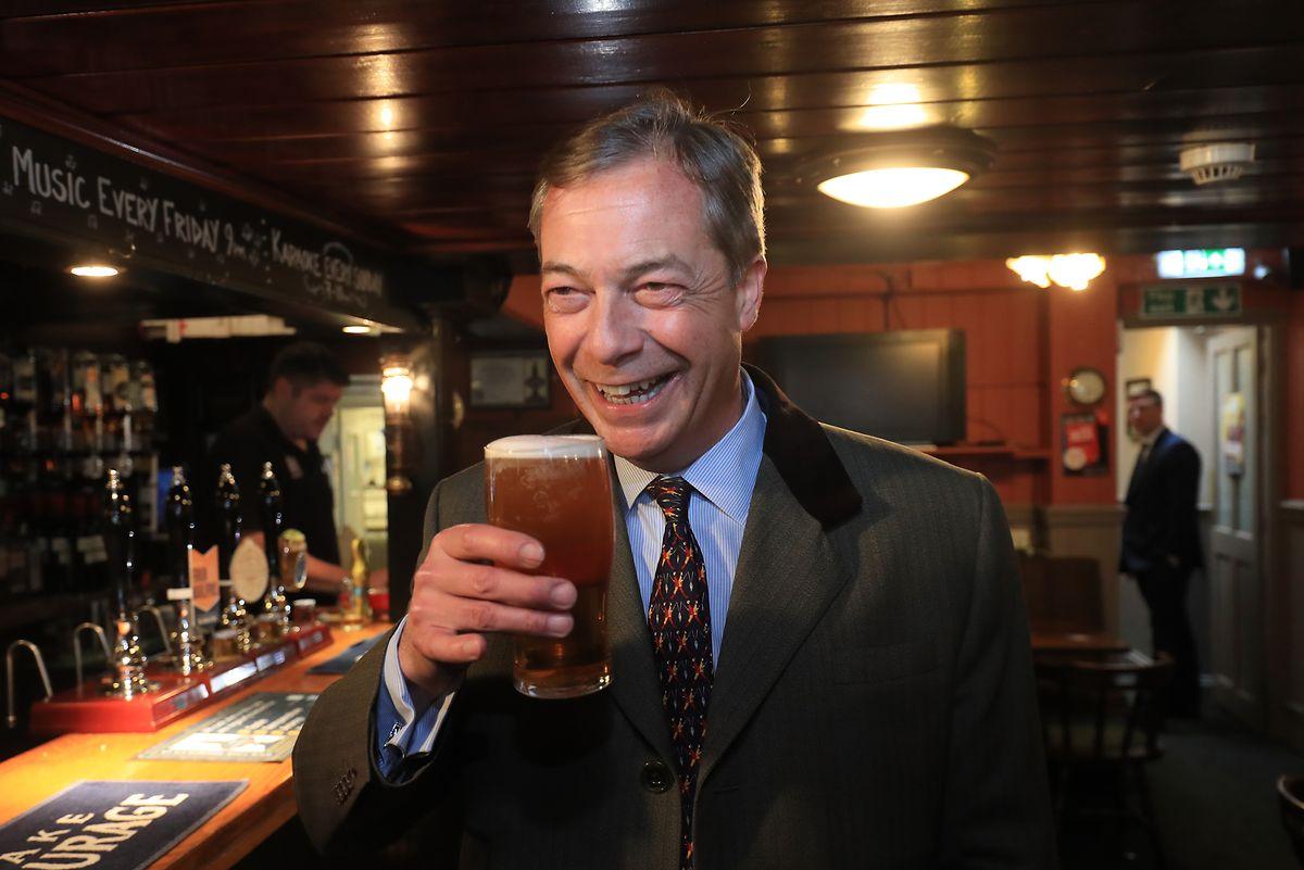 Nigel Farage und seine EU-feindliche Partei gelten als große Favoriten.