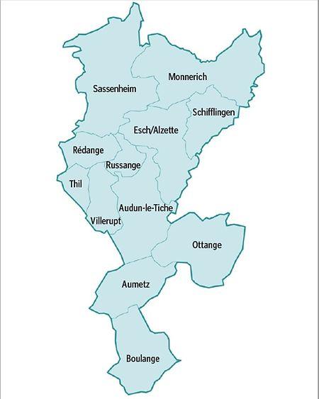 Für ein Gebiet mit etwa 90.000 Einwohnern soll ein kohärentes Konzept ausgearbeitet werden.