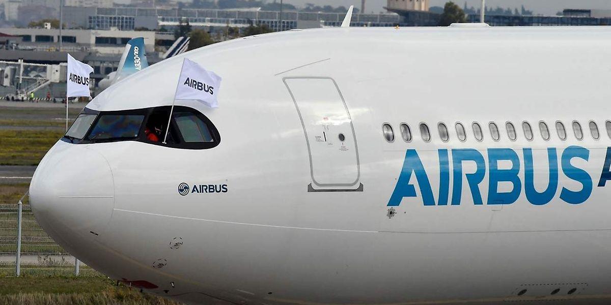 Katar hat eine Bestellung mit unter anderem 50 Airbus-Flugzeugen in Auftrag gegeben.