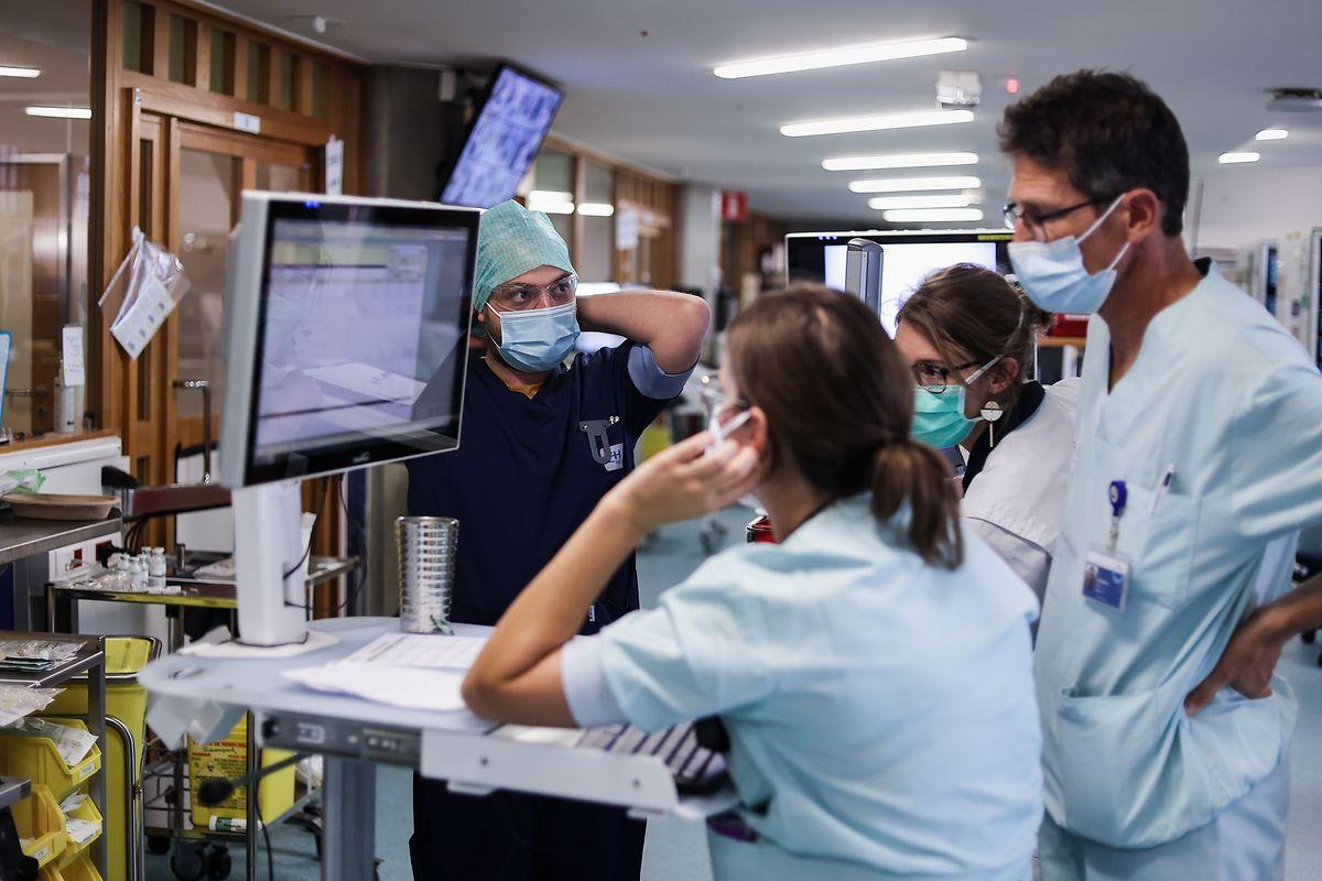 Dès le 2 novembre, 60% de la capacité en soins intensifs des hôpitaux belges seront consacrés à des patients covid-19