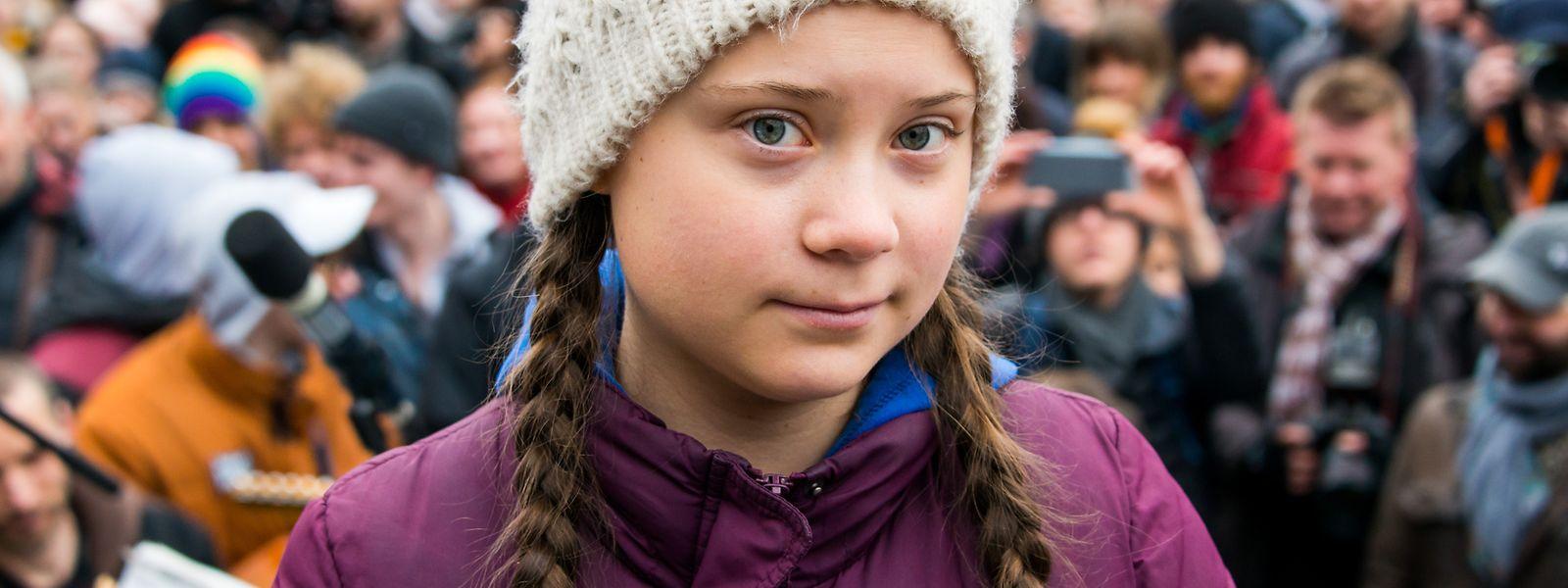 """Die junge Schwedin Greta Thunberg ist die Galionsfigur der """"Fridays for Future""""-Protestbewegung."""