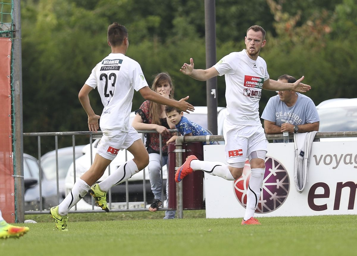 Yannick Nonnweiler a offert la victoire au Titus contre le RM Hamm Benfica.