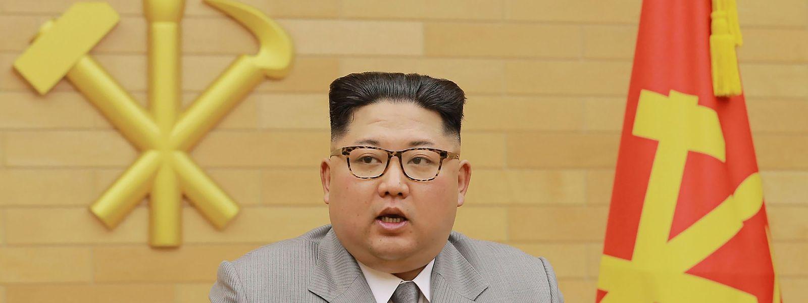 Kim Jong Un zeigte sich in westlicher Kleidung.
