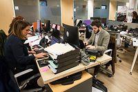 Die Jungunternehmen, die im House of Start-ups beherbergt sind, müssen zunächst einen Monat keine Miete zahlen.