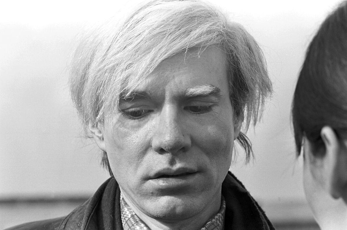 Andy Warhol (hier während der Premiere seines Films «Trash» in München 1971)