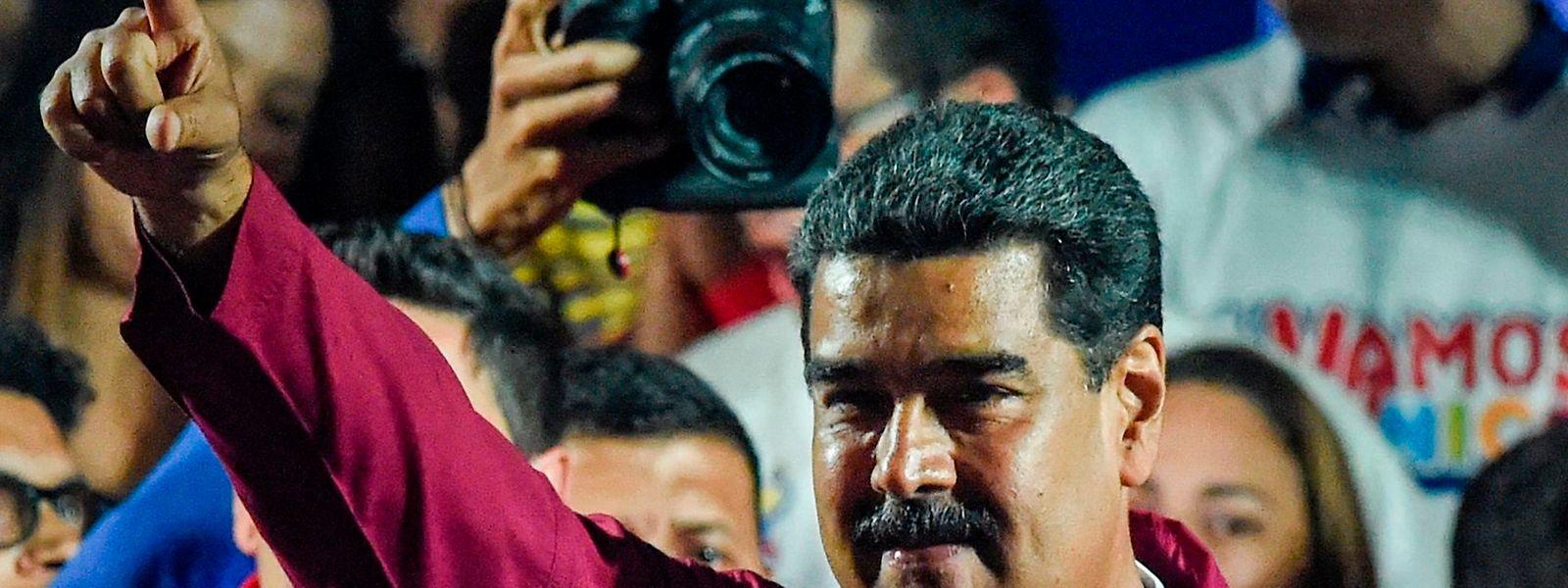 Nicolas Maduro bleibt Präsident in Venezuela - einem Land im Katastrophenmodus.