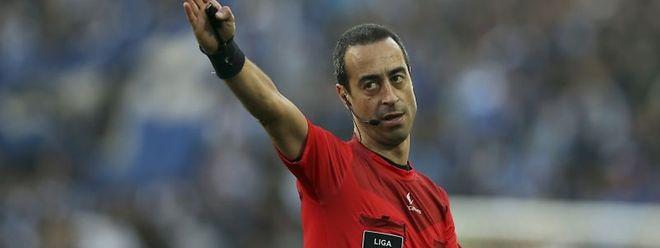 O árbitro Jorge Sousa