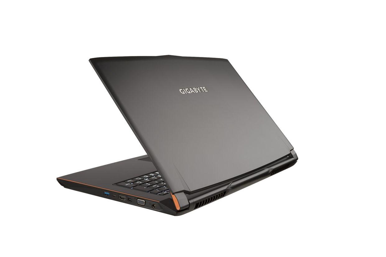 Gigabytes P57W hat ein 17,3 Zoll großes Display, seine Tastatur soll auch zeitgleich eingegebene Kommandos zuverlässig erkennen.