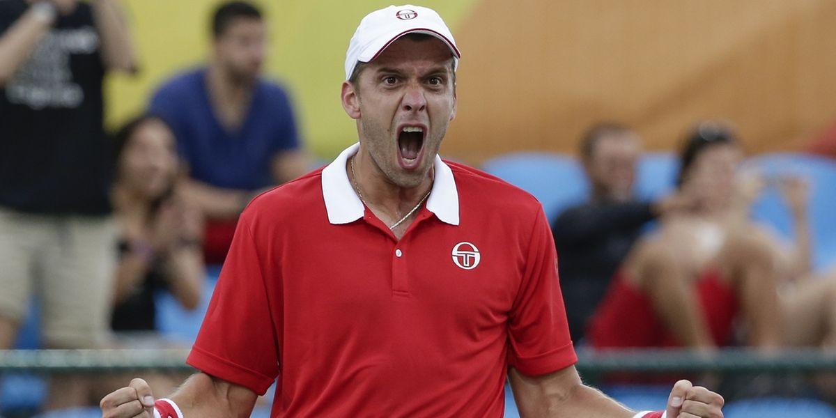 Toute la rage de vaincre de Gilles Muller, qualifié pour les huitièmes de finale du tournoi olympique