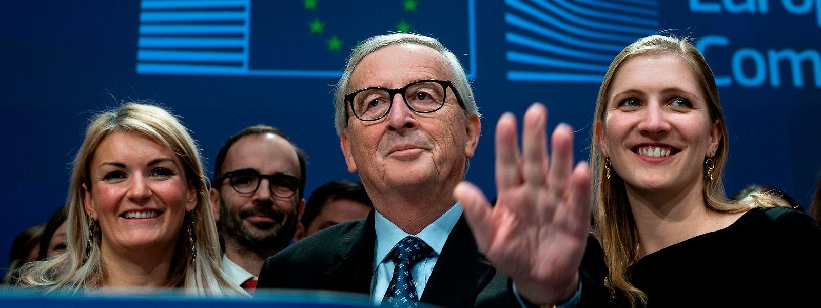 Jean-Claude Juncker n'a pas manqué de placer des traits d'humour pour ses adieux à la Commission.