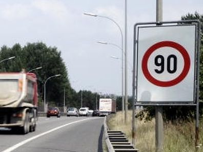 03.07.09 Tempolimit auf der Autobahn,Tempo 90,Ozonwerte,hoher Ozon.Foto:Gerry Huberty