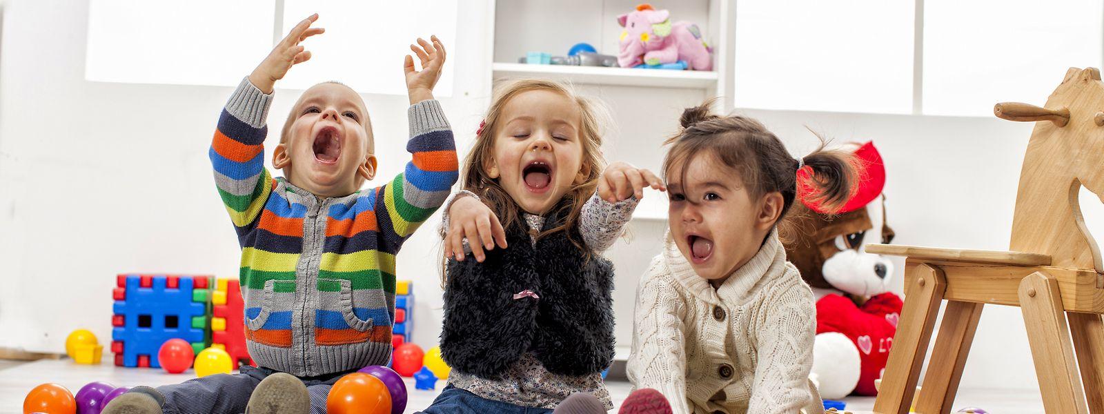 Kinder wollen bespielt werden:In diesen Zeiten kein einfaches Unterfangen.