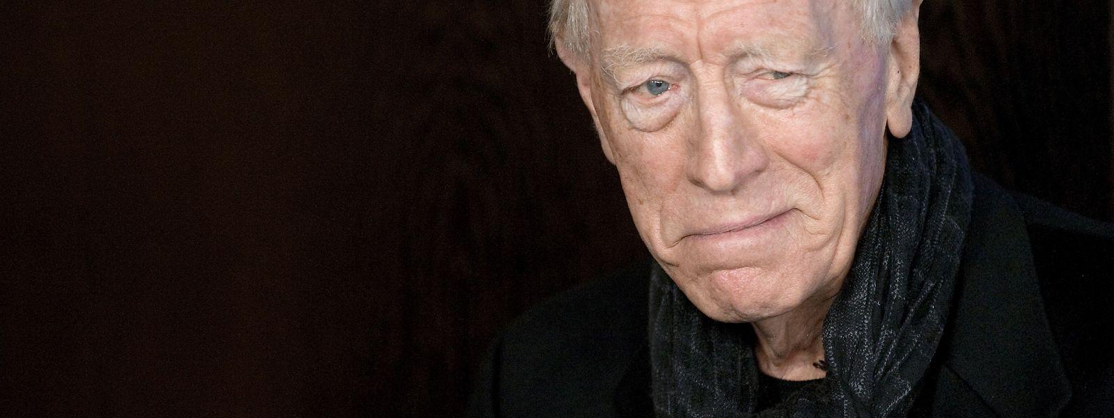 """Schauspiellegende Max von Sydow - hier beim Photocall von """"Extremely Loud and Incredibly Close"""" - ist im Alter von 90 Jahren verstorben."""