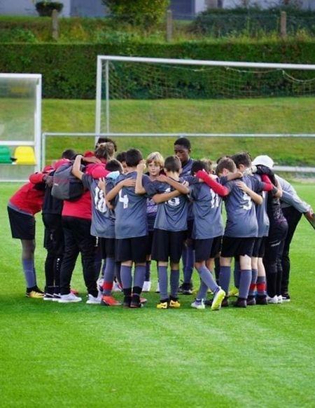 Pour les jeunes de l'Académie du Hamm Benfica, la reprise a également eu lieu lundi.