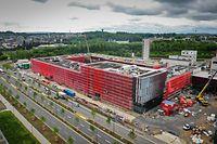 Rettungszenter CGDIS um Boulevard Kockelscheuer  - Foto: Pierre Matgé/Luxemburger Wort
