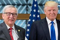 Jean-Claude Juncker, Donald Tusk, Donald Trump,