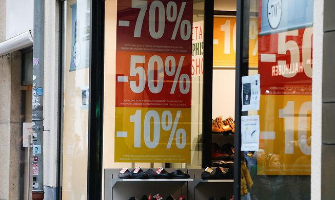 Sales have been cited as the main reason for the fall in inflation in July this year