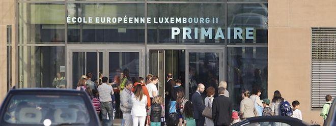 A l'école européenne de Mamer, «32% des élèves sont en section francophone», explique le directeur.
