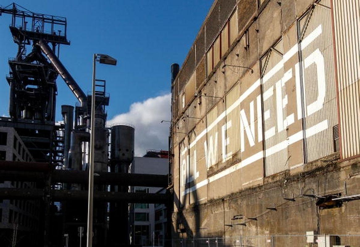 All we need - Auststellung und Highlight der Kulturhauptstadt 2007 in Esch/Alzette.