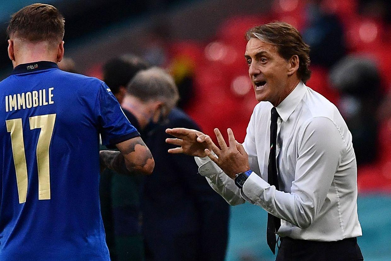 Le coach italien Roberto Mancini a su amené son équipe à un jeu vif et axé sur l'offensive.