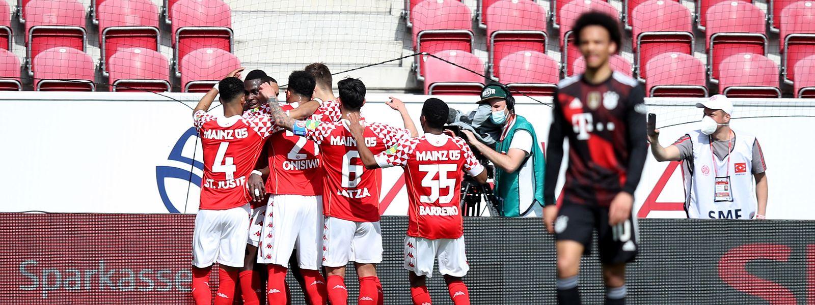 Da jubelt auch Leandro Barreiro: Die drei Punkte gegen den FC Bayern sind wichtig im Kampf um den Klassenerhalt.
