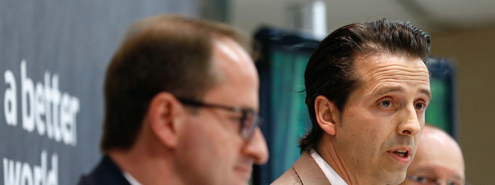 Pierre Mangers, Yves Even et John Hames ont présenté les résultats du baromètre européen des PME. (Photo: Chris Karaba)