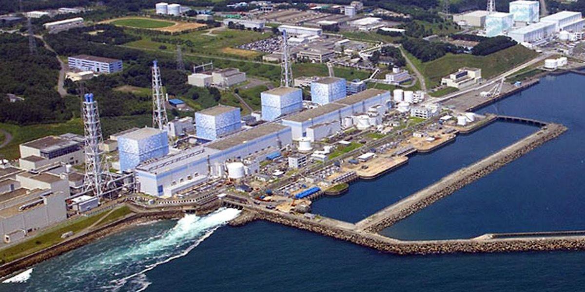Die Luftaufnahme des Betreibers Tepco zeigt das japanische Atomkraftwerk in Fukushima am 11.03.2011.