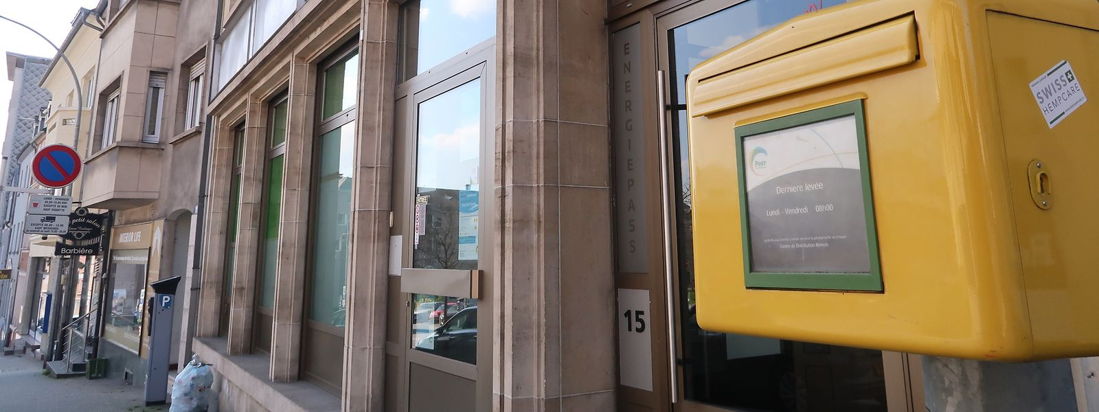 Seit Februar 2020 steht die Postfiliale an der Remicher Rue Enz leer.