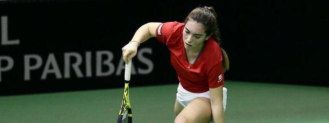 Eléonora Molinaro se souviendra longtemps de sa victoire sur la Française Alizé Lim en quart de finale du tournoi ITF W15 de Gonesse