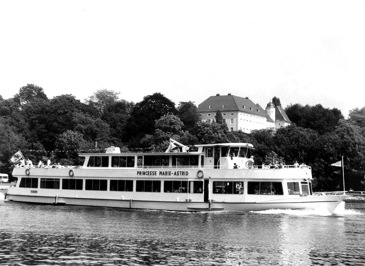 Die Marie-Astrid 2 bei einer Ausfahrt in den 1980er Jahren.