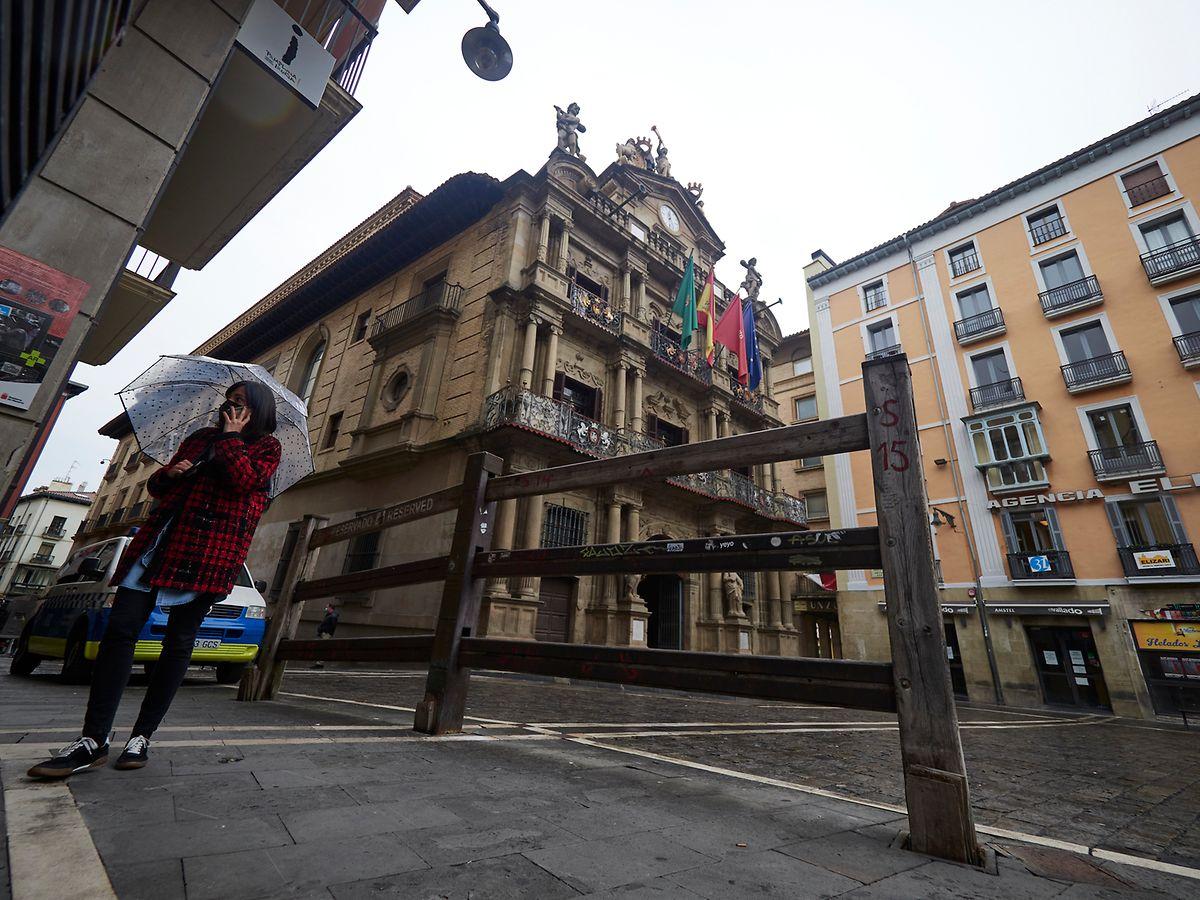 Die umstrittene Stierhatz von Pamplona wurde abgesagt.